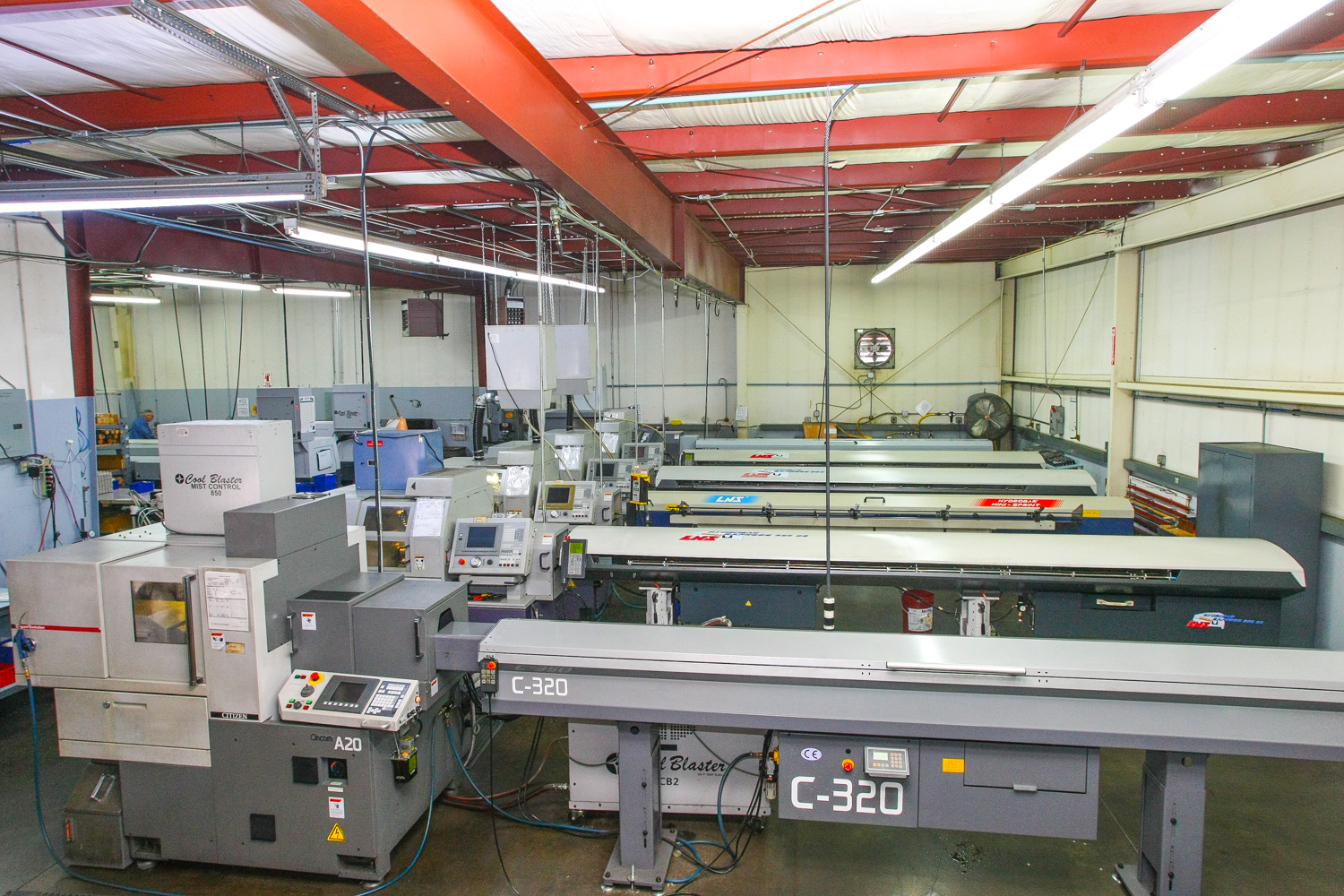 What started out as a 10'x30' rented space in his dad's shop has grown to  5000sq.ft. of CNC Swiss manufacturing. Pacific Swiss & Manufacturing has  nine ...